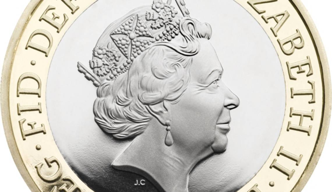 Queen Elizabeth II, undisputed ruler of coins