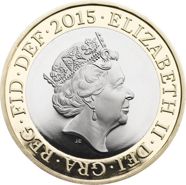 Queen Elizabeth II, undisputed ruler of coins