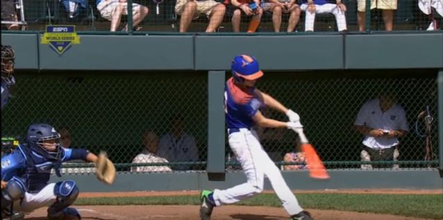 Little League Home Runs Not So Little
