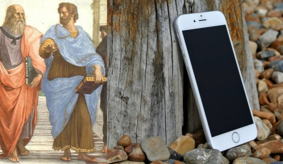 What Plato really needed was an iPhone