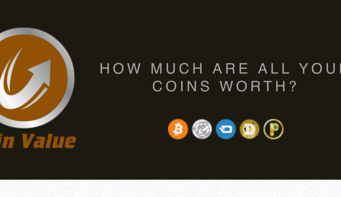 Announcing coinvalue.io!