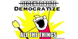 democratize