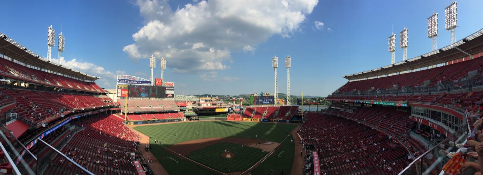 A Ballpark Travelogue