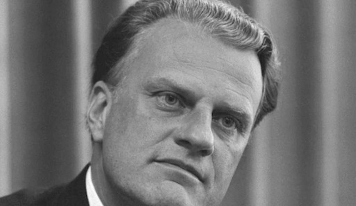 St. Billy Graham?