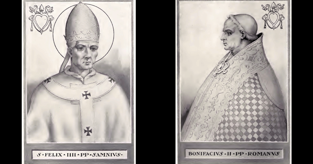 Accepted, Not Elected: The Curious Case of Pope Boniface II